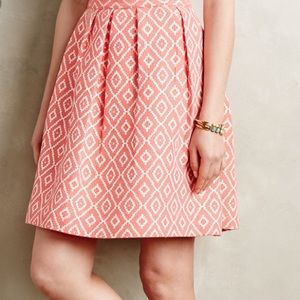 Anthropologie Ikat Hutch skirt 12 guc